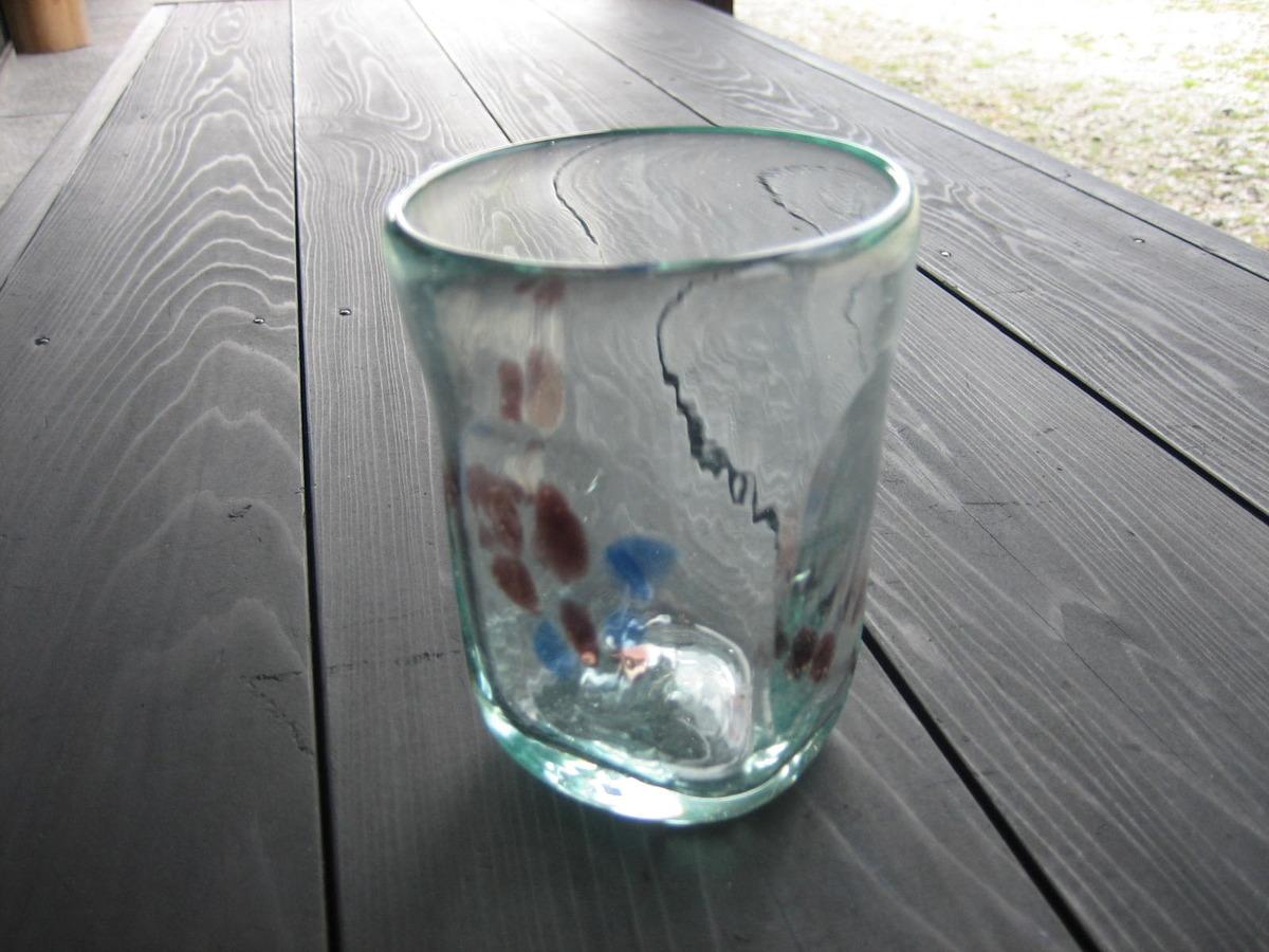 熊野のおもひでに…吹きガラス体験を…