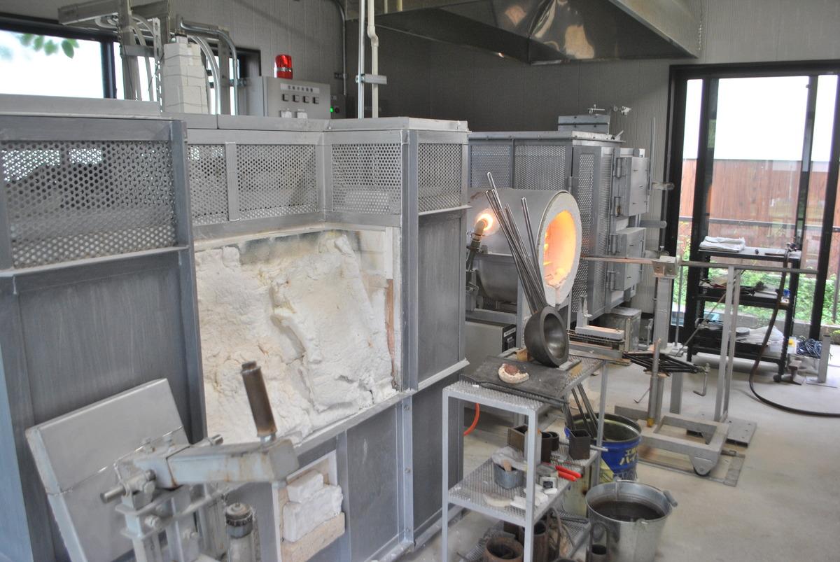 吹きガラス工房